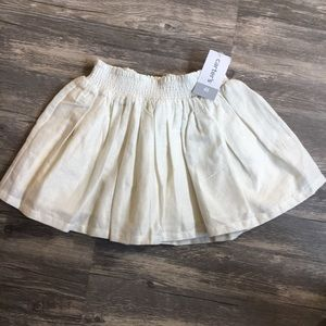 Carters sparkly pleated skirt